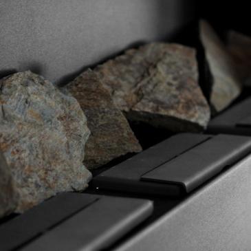 Komplet kamieni ozdobnych do biokominków Grota