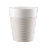 Komplet kubków porcelanowych 0,17l Bodum Bistro biały