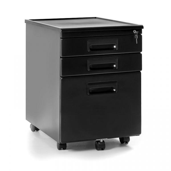 Kontener biurowy Z-Line  UNIQUE 324-B czarny 324-B