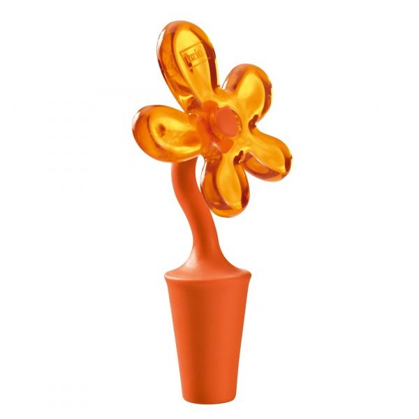 Korek do butelek Koziol A-Pril pomarańczowo-czerwony KZ-3747633