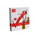 Korkociąg Vacu Vin Single Pull Corkscrew czerwony