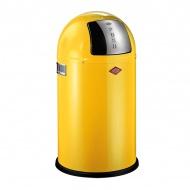 Kosz 22 l Wesco PushBoy żółty