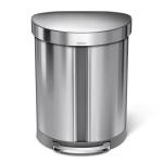 Kosz kuchenny na śmieci pedałowy 55l Recycler półokrągły