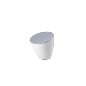 Kosz kuchenny na odpadki 2,2l Calypso biały
