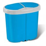 Kosz na śmieci Meliconi 25 l Multispace duo niebieski