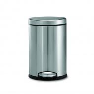 Kosz na śmieci pedałowy 3L Simplehuman srebrny
