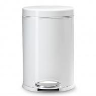 Kosz na śmieci pedałowy 4,5L Simplehuman biały