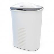 Kosz na ubrania Meliconi Twin 50 + 10 l biały