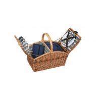 Kosz piknikowy dla 4 osób Cilio Verbania Deluxe