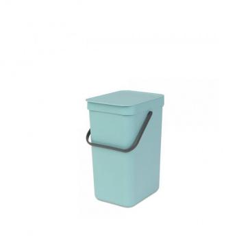 Kosz na śmieci kuchenny 12l Brabantia Sort&Go miętowy