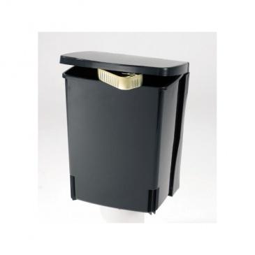 Kosz szafkowy prostokątny 10L czarny - Brabantia