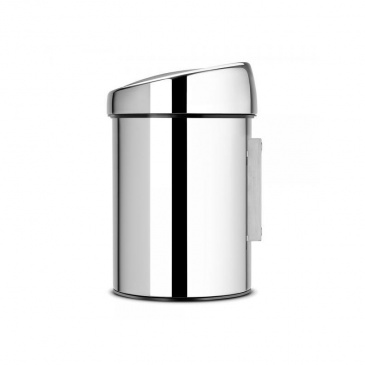 Kosz łazienkowy Touch Bin ze stali polerowanej 3L Brabantia srebrny