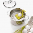 Koszyczek do gotowania jajek Koziol Buggy musztardowy- 2 szt KZ-3093582