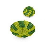 Koszyk do gotowania na parze HPBA zielony