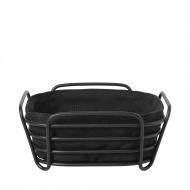 Koszyk na pieczywo 20cm Blomus Delara czarny