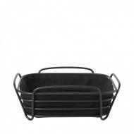 Koszyk na pieczywo 25cm Blomus Delara czarny