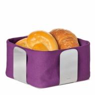 Koszyk na pieczywo Blomus Desa 25,5 cm fioletowy