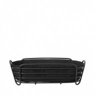 Koszyk na pieczywo owalny 14x32cm Blomus Delara czarny