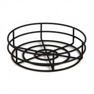 Koszyk z drutu Centro 85 8x38 cm NORDIFRA czarny