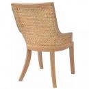 Krzesła do jadalni, rattanowe, 2 szt.