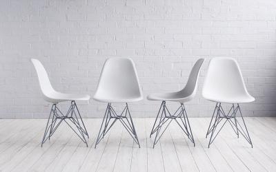 Krzesła DSW i DSR - nowoczesna aranżacja wnętrza