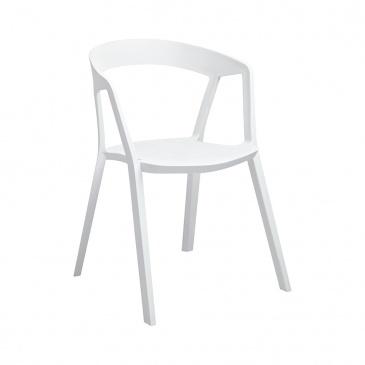 Krzesło 57x56,5x77cm King Home Vibia białe