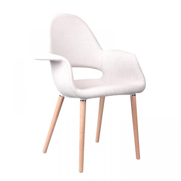 Krzesło A-Shape jasnoszare DK-38782