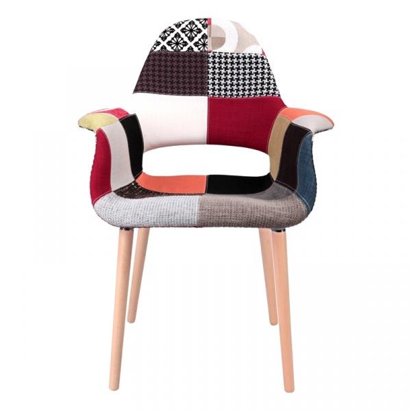 Krzesło A-Shape patchwork DK-38790