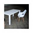 Krzesło A-Shape PP czarne DK-22891