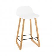 Krzesło barowe Astoria Kokoon Design białe