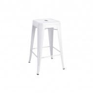 Krzesło barowe King Home Tower biały