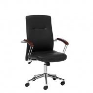 Krzesło biurowe czarne regulowana wysokość ELECT