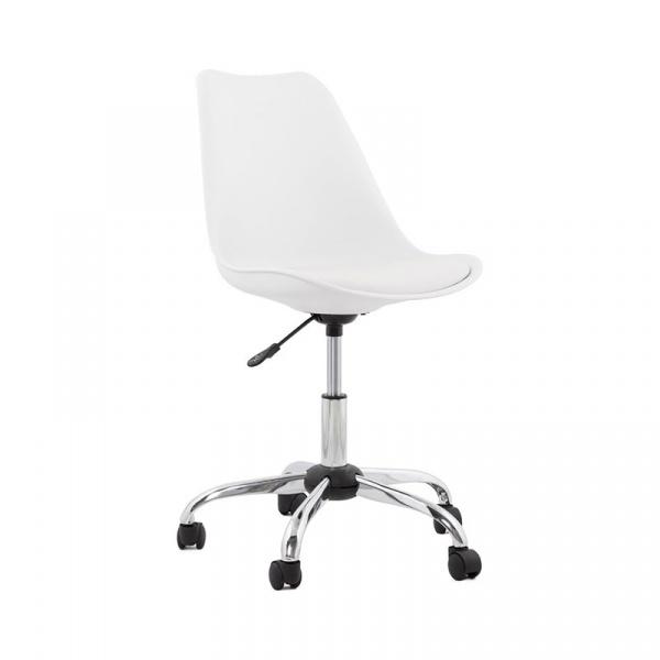 Krzesło biurowe Edea Kokoon Design biały OC00280WHWH