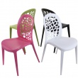 Krzesło Bladder różowe DK-24756