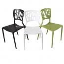 Krzesło Bush białe