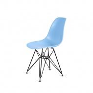 Krzesło DSR Black King Home jasno-niebieskie