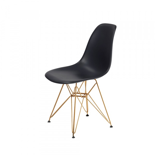 Krzesło DSR Gold King Home asfaltowy szary K-130.B.GREY.39.DSRG