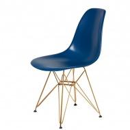 Krzesło DSR Gold King Home atramentowy