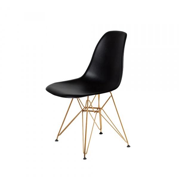 Krzesło DSR Gold King Home czarne K-130.BLACK.DSRG