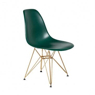 Krzesło DSR Gold King Home myśliwska zieleń