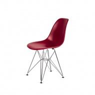 Krzesło DSR Silver King Home bordowe