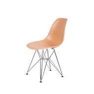 Krzesło DSR Silver King Home ciepło-kremowe