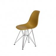Krzesło DSR Silver King Home imbirowe