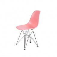 Krzesło DSR Silver King Home jasna brzoskwinia