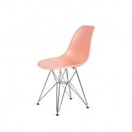 Krzesło DSR Silver King Home łososiowe