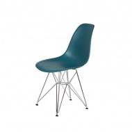 Krzesło DSR Silver King Home marynarski niebieski