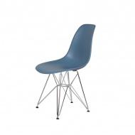 Krzesło DSR Silver King Home pastelowy niebieski