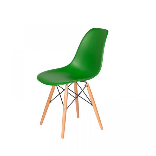Krzesło DSW Wood King Bath irlandzka zieleń JU-K130.DSW.DARK.GREEN.21