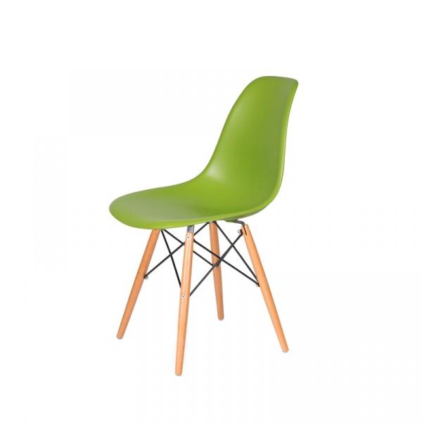 Krzesło DSW Wood King Bath soczysta zieleń K.130.GREEN.13.DSW