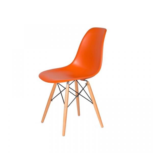 Krzesło DSW Wood King Bath sycylijski pomarańcz K-130.ORANGE.O8.DSW